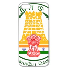 Seal of Indian State of Tamil Nadu  Apple Seamless iPhone 5 Case (Clear)