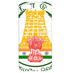 Seal of Indian State of Tamil Nadu  Apple iPhone 5 Hardshell Case with Stand