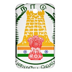 Seal of Indian State of Tamil Nadu  Samsung Galaxy Tab 3 (7 ) P3200 Hardshell Case