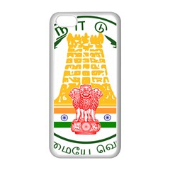 Seal of Indian State of Tamil Nadu  Apple iPhone 5C Seamless Case (White)