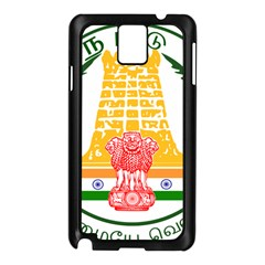 Seal of Indian State of Tamil Nadu  Samsung Galaxy Note 3 N9005 Case (Black)