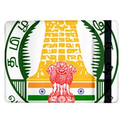 Seal of Indian State of Tamil Nadu  Samsung Galaxy Tab Pro 12.2  Flip Case