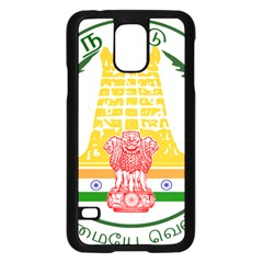 Seal of Indian State of Tamil Nadu  Samsung Galaxy S5 Case (Black)