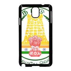 Seal of Indian State of Tamil Nadu  Samsung Galaxy Note 3 Neo Hardshell Case (Black)