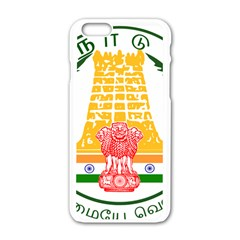 Seal of Indian State of Tamil Nadu  Apple iPhone 6/6S White Enamel Case