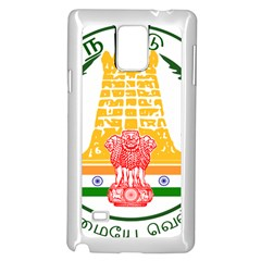 Seal of Indian State of Tamil Nadu  Samsung Galaxy Note 4 Case (White)