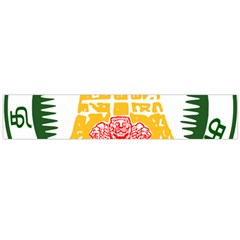 Seal of Indian State of Tamil Nadu  Flano Scarf (Large)