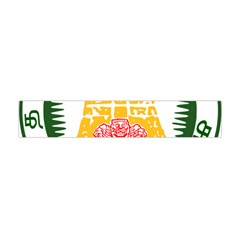 Seal of Indian State of Tamil Nadu  Flano Scarf (Mini)