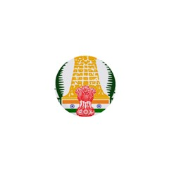 Seal of Indian State of Tamil Nadu  1  Mini Buttons