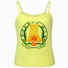 Seal of Indian State of Tamil Nadu  Yellow Spaghetti Tank