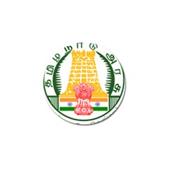 Seal of Indian State of Tamil Nadu  Golf Ball Marker (10 pack)