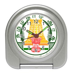 Seal of Indian State of Tamil Nadu  Travel Alarm Clocks