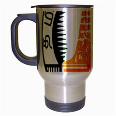 Seal of Indian State of Tamil Nadu  Travel Mug (Silver Gray)