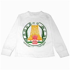 Seal of Indian State of Tamil Nadu  Kids Long Sleeve T-Shirts