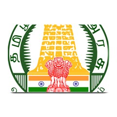 Seal of Indian State of Tamil Nadu  Plate Mats