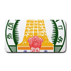 Seal of Indian State of Tamil Nadu  Medium Bar Mats