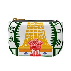 Seal of Indian State of Tamil Nadu  Mini Coin Purses