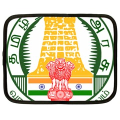 Seal of Indian State of Tamil Nadu  Netbook Case (XL)