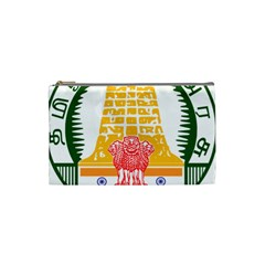 Seal of Indian State of Tamil Nadu  Cosmetic Bag (Small)