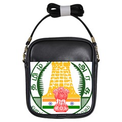 Seal of Indian State of Tamil Nadu  Girls Sling Bags