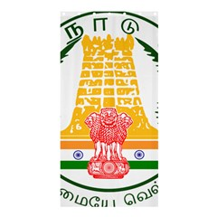 Seal of Indian State of Tamil Nadu  Shower Curtain 36  x 72  (Stall)