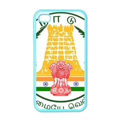 Seal of Indian State of Tamil Nadu  Apple iPhone 4 Case (Color)