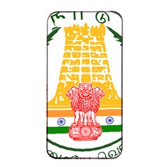 Seal of Indian State of Tamil Nadu  Apple iPhone 4/4s Seamless Case (Black)
