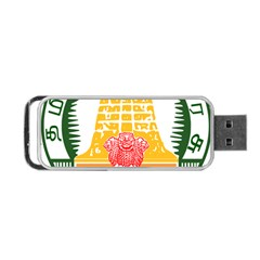 Seal of Indian State of Tamil Nadu  Portable USB Flash (One Side)
