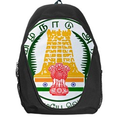Seal of Indian State of Tamil Nadu  Backpack Bag