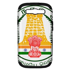 Seal of Indian State of Tamil Nadu  Samsung Galaxy S III Hardshell Case (PC+Silicone)