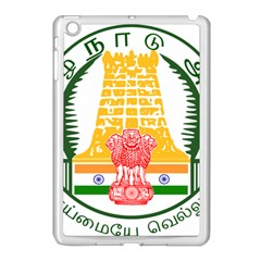 Seal of Indian State of Tamil Nadu  Apple iPad Mini Case (White)