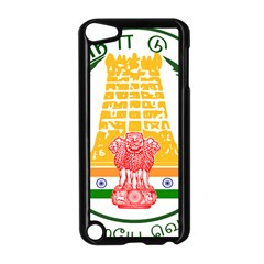 Seal of Indian State of Tamil Nadu  Apple iPod Touch 5 Case (Black)