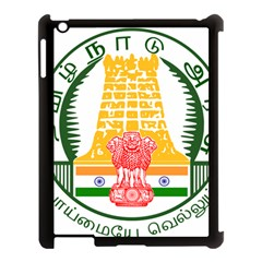 Seal of Indian State of Tamil Nadu  Apple iPad 3/4 Case (Black)