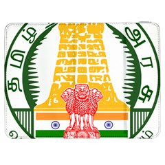 Seal of Indian State of Tamil Nadu  Samsung Galaxy Tab 7  P1000 Flip Case