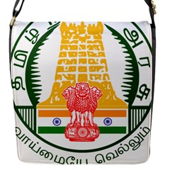 Seal of Indian State of Tamil Nadu  Flap Messenger Bag (S)