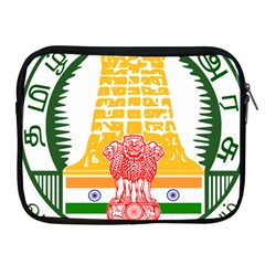 Seal of Indian State of Tamil Nadu  Apple iPad 2/3/4 Zipper Cases