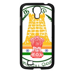 Seal of Indian State of Tamil Nadu  Samsung Galaxy S4 I9500/ I9505 Case (Black)