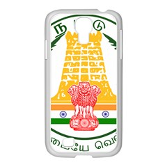 Seal of Indian State of Tamil Nadu  Samsung GALAXY S4 I9500/ I9505 Case (White)