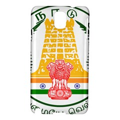 Seal of Indian State of Tamil Nadu  Samsung Galaxy Note 3 N9005 Hardshell Case