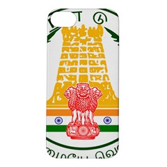 Seal of Indian State of Tamil Nadu  Apple iPhone 5S/ SE Hardshell Case