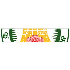 Seal of Indian State of Tamil Nadu  Flano Scarf (Small)