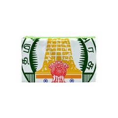 Seal of Indian State of Tamil Nadu  Cosmetic Bag (XS)