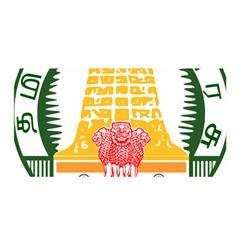 Seal of Indian State of Tamil Nadu  Satin Wrap