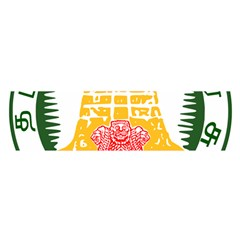 Seal of Indian State of Tamil Nadu  Satin Scarf (Oblong)