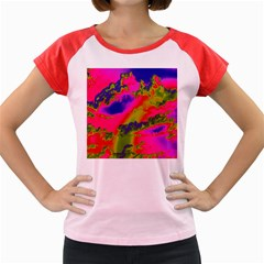 Sky pattern Women s Cap Sleeve T-Shirt