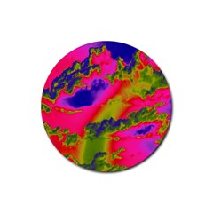Sky pattern Rubber Round Coaster (4 pack)