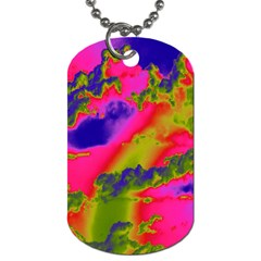 Sky pattern Dog Tag (One Side)