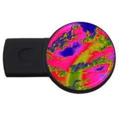 Sky pattern USB Flash Drive Round (2 GB)