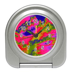 Sky pattern Travel Alarm Clocks