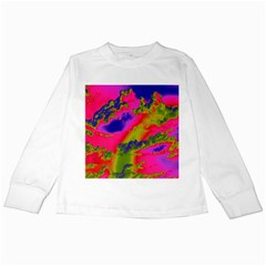 Sky pattern Kids Long Sleeve T-Shirts